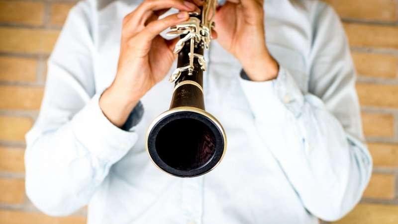 Ensemble Storstrøm, klarinet, foto: Stéphane Tran Ngoc