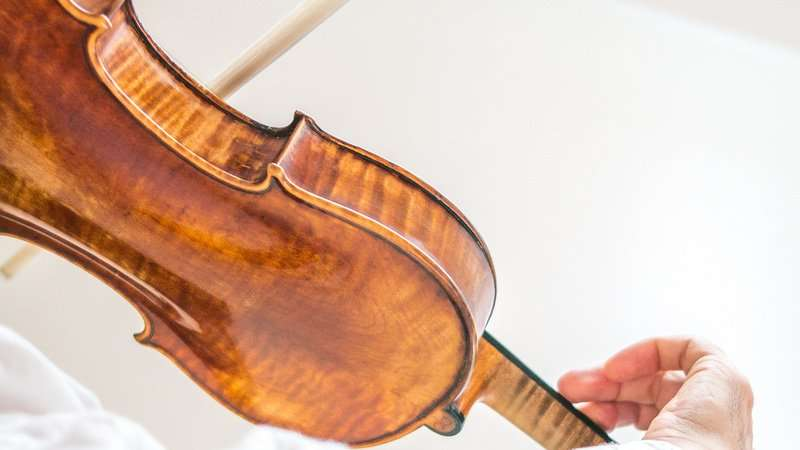 Ensemble Storstrøm, violin, foto: Stéphane Tran Ngoc