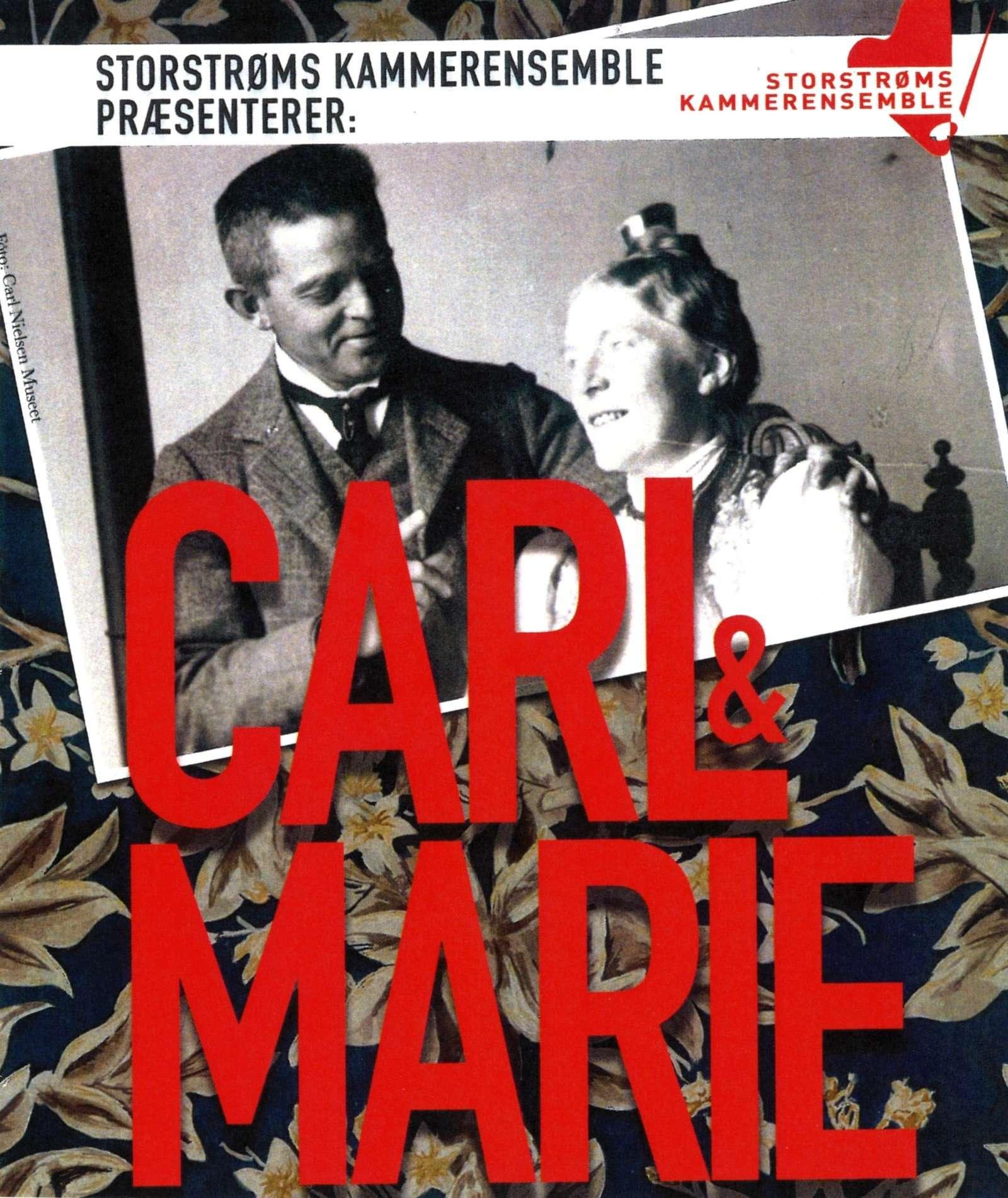 Carl og Marie plakat