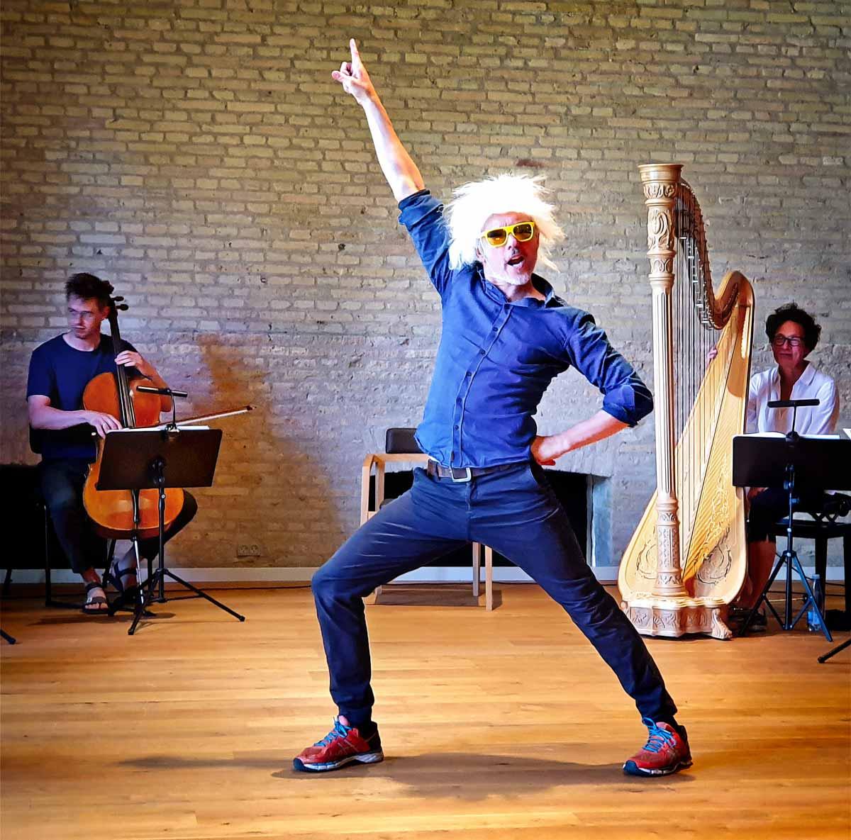 Bravo Beethoven med Jens Andersen, foto: Bjørn Meldgaard