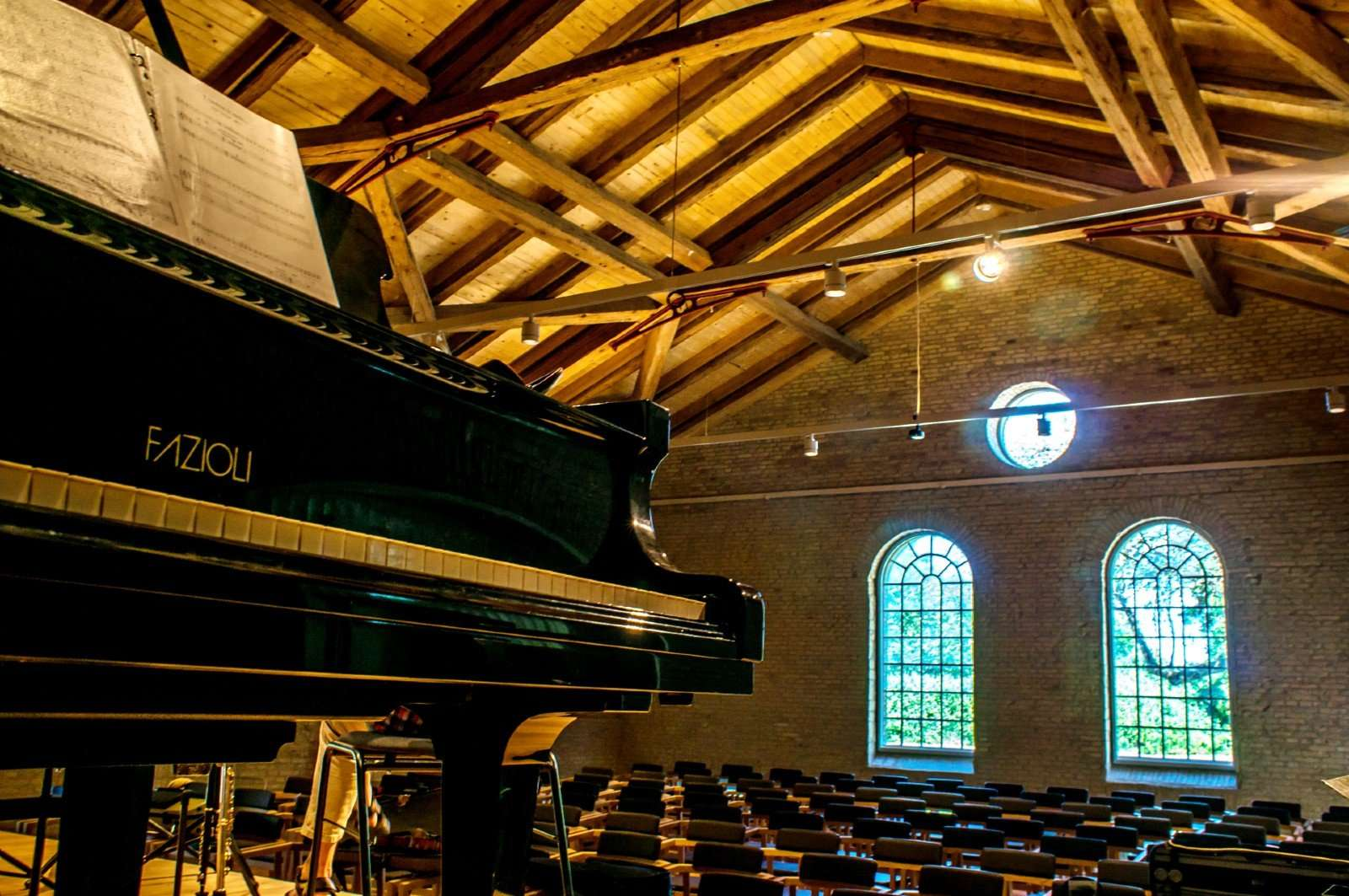 Koncertsalen i KUMUS, foto: Stéphane Tran Ngoc