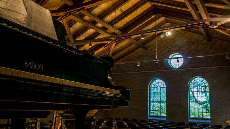 KUMUS koncertsal og flygel